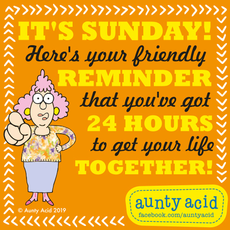 Aunty Acid Comic Strip for June 16, 2019