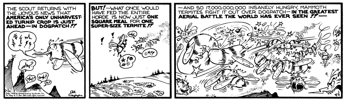 Li'l Abner for Jan 27, 2013 Comic Strip