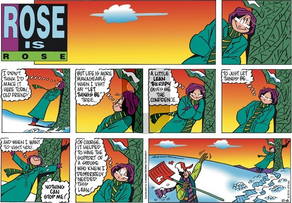 Rose is Rose on Sunday December 8, 2019 Comic Strip