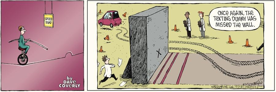 Speed Bump Comic Strip for January 26, 2020