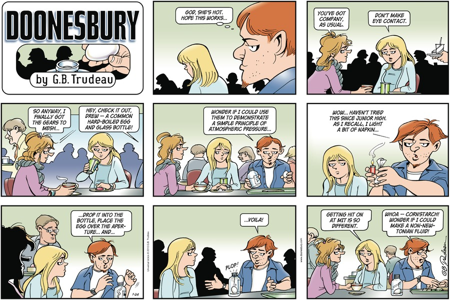 Doonesbury Comic Strip for January 24, 2010