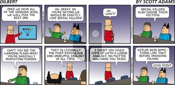 Dilbert - Sunday July 23, 2017 Comic Strip