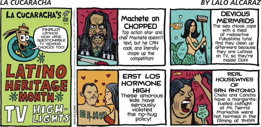 La Cucaracha Comic Strip for September 12, 2021