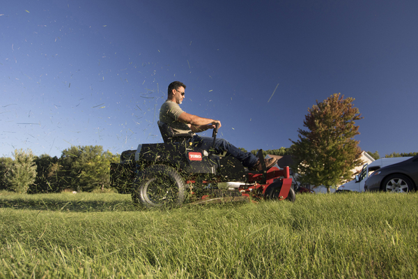Zero-turn mowers account for about one-third of all riding mowers sold, according to Consumer Reports. They're easy to maneuver and cut fast, for people who mow more than an acre.