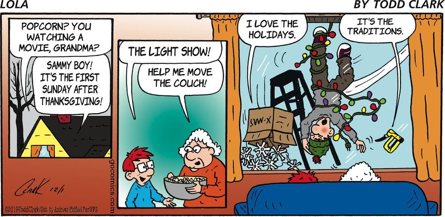 Lola Comic Strip for December 01, 2019