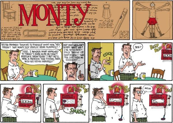 Monty on Sunday May 11, 2014 Comic Strip