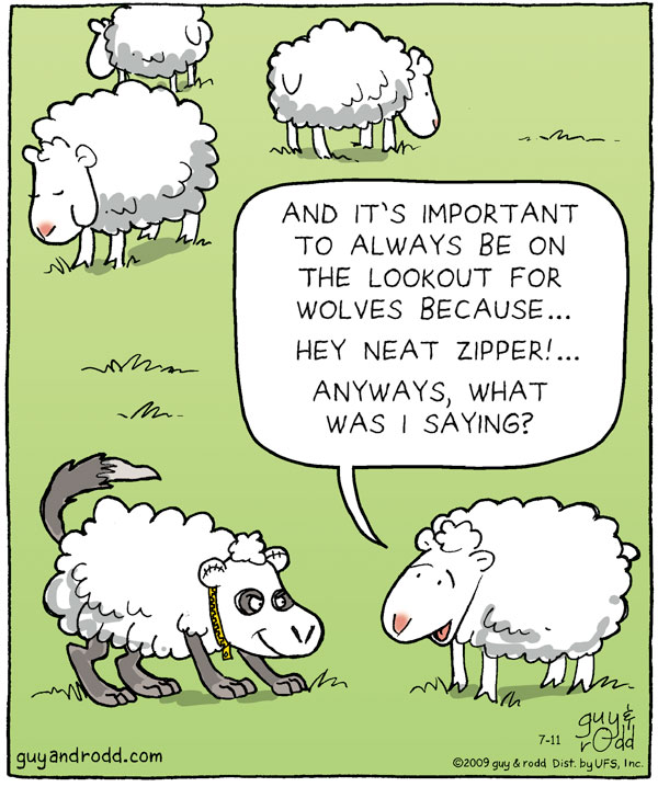 Brevity for Jul 11, 2009 Comic Strip