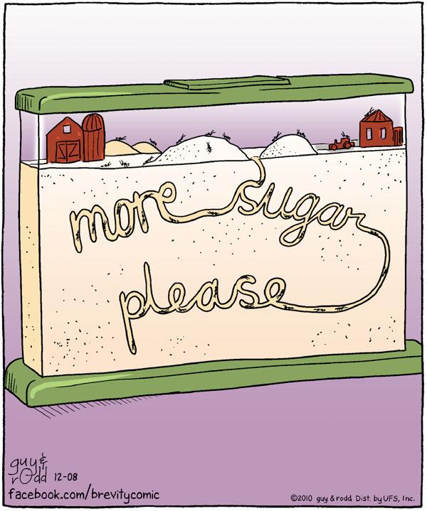 Brevity Comic Strip for December 08, 2010