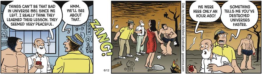 Alley Oop Comic Strip for June 12, 2021