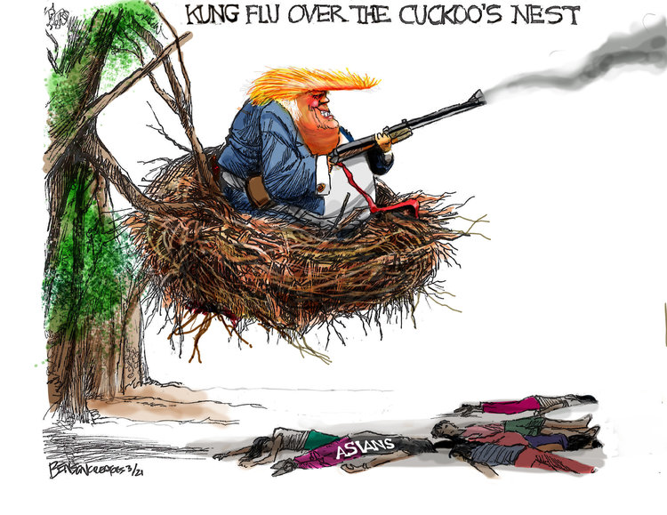 Steve Benson Comic Strip for March 24, 2021