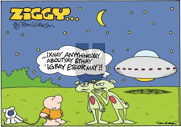 Ziggy on Sunday September 13, 2020 Comic Strip