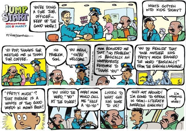 JumpStart - Sunday October 21, 2001 Comic Strip