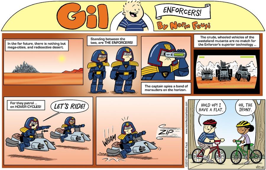 Gil Comic Strip for April 18, 2021