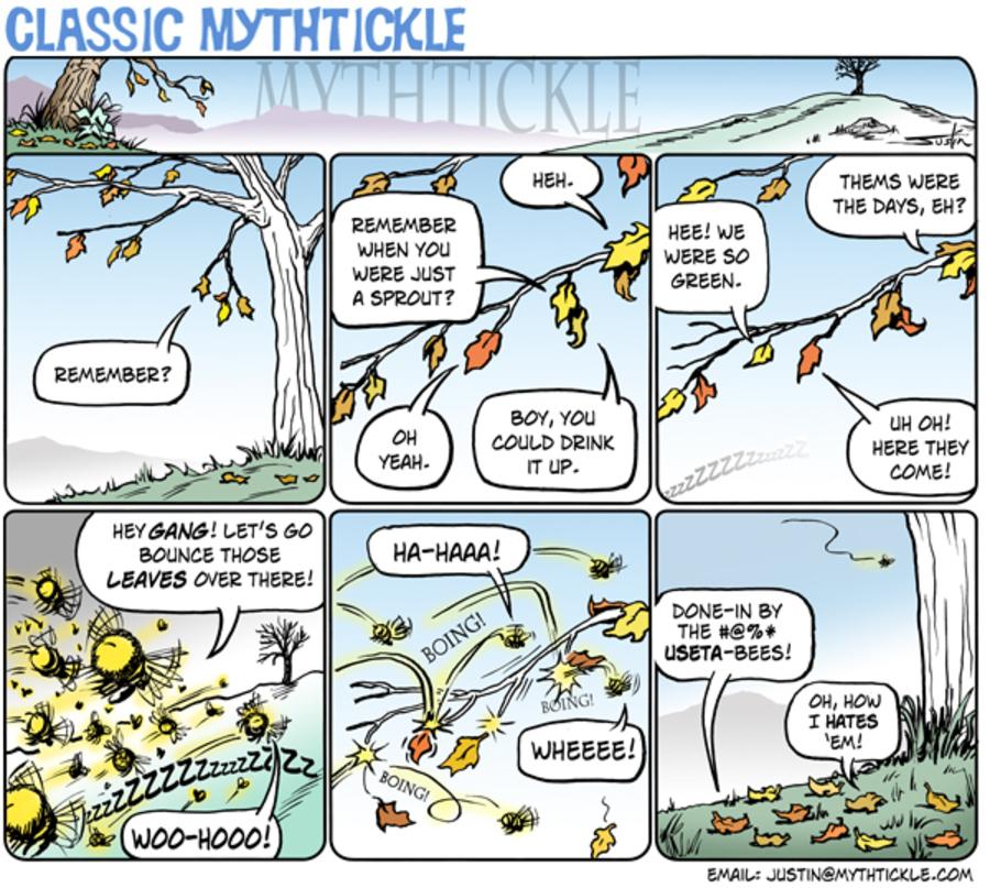 MythTickle Comic Strip for October 24, 2012