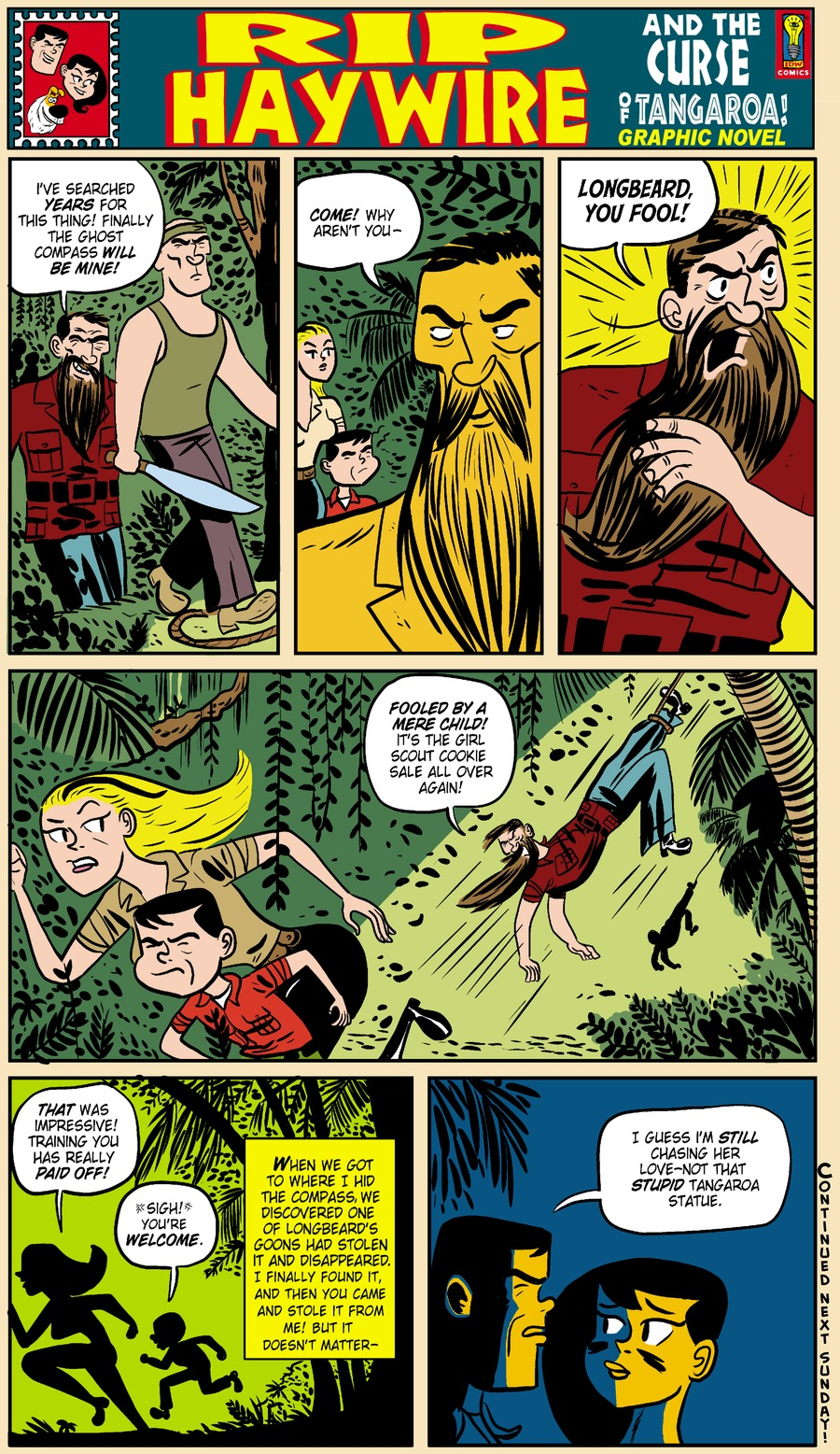 Rip Haywire Comic Strip for April 27, 2014