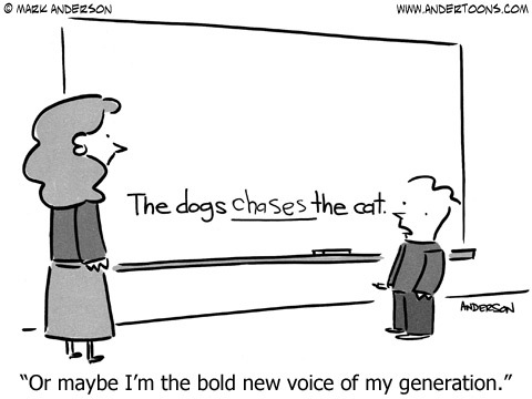 Andertoons Comic Strip for August 23, 2014