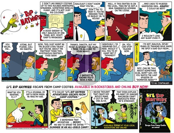 Rip Haywire on Sunday June 12, 2016 Comic Strip