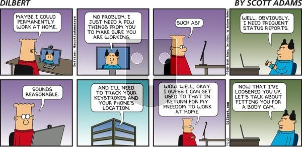 Dilbert - Sunday July 5, 2020 Comic Strip