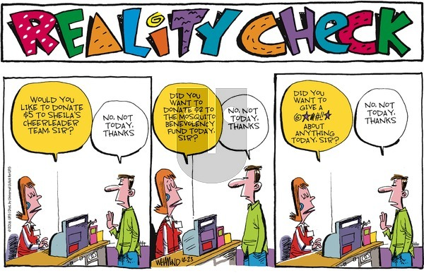 Reality Check on Sunday October 23, 2016 Comic Strip