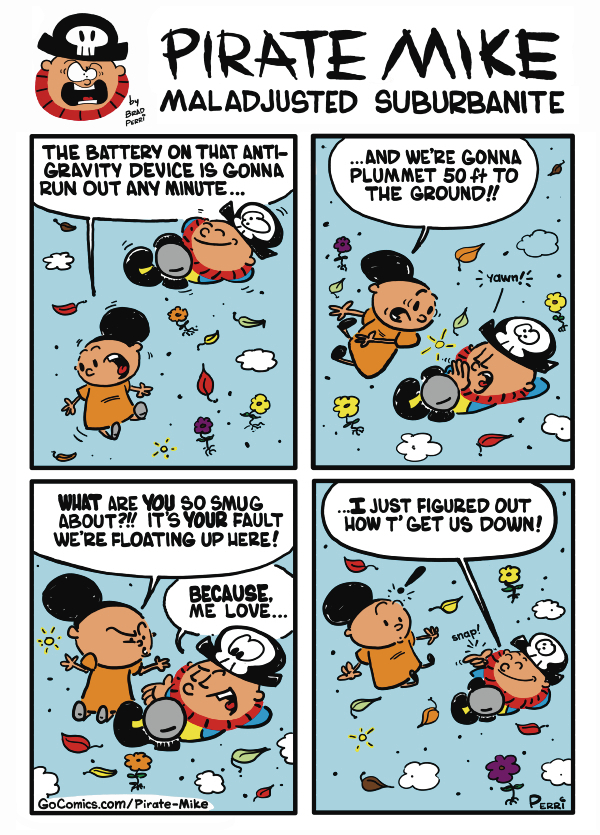 Pirate Mike Comic Strip for October 16, 2019