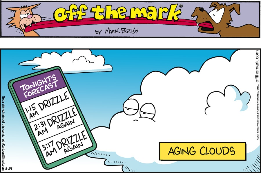 Off the Mark Comic Strip for August 29, 2021