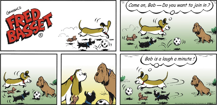 Fred Basset Comic Strip for January 05, 2020