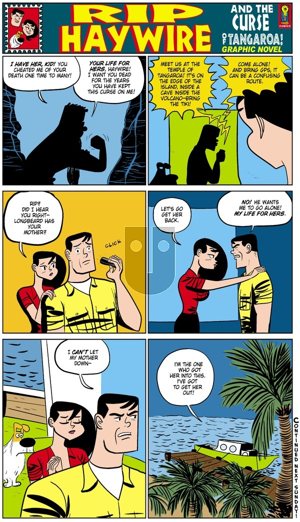 Rip Haywire on Sunday December 21, 2014 Comic Strip