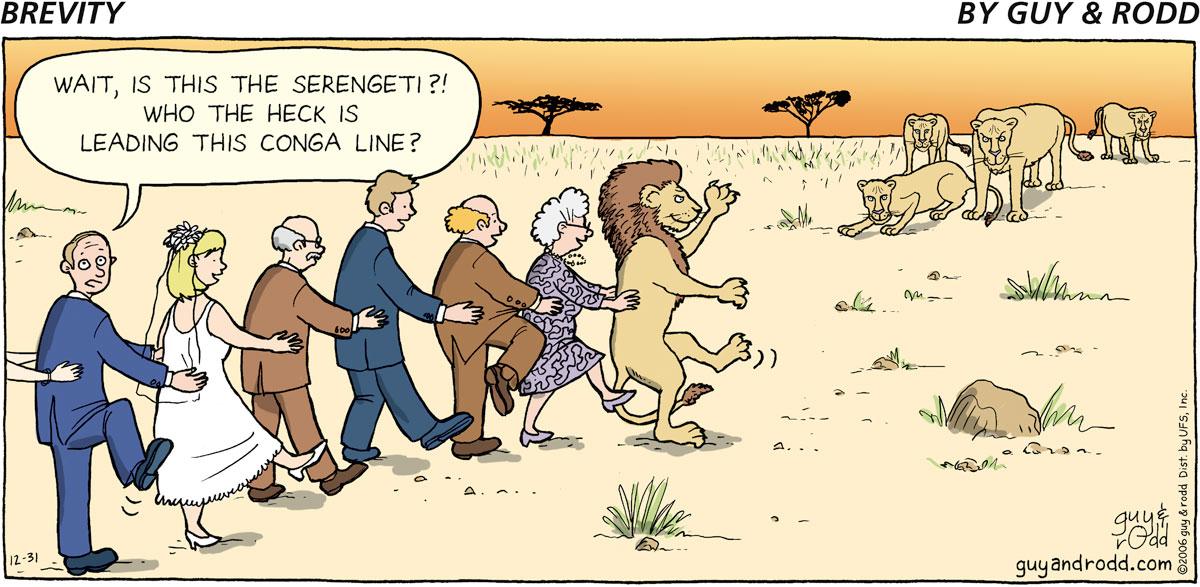 Brevity Comic Strip for December 31, 2006