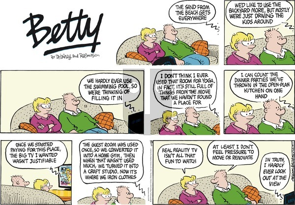 Betty on November 25, 2018 Comic Strip