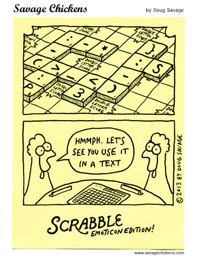 Savage Chickens for Oct 20, 2017 Comic Strip