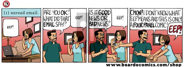 Beardo on Wednesday January 8, 2020 Comic Strip
