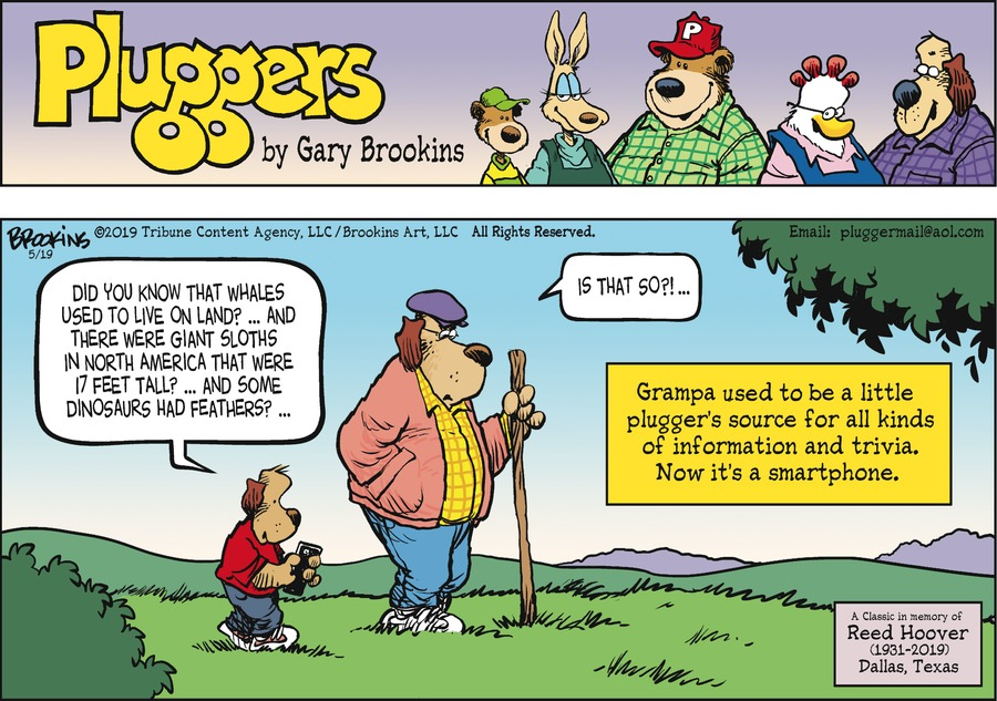 Pluggers by Gary Brookins for May 19, 2019