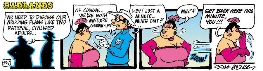 Badlands Comic Strip for August 05, 2021