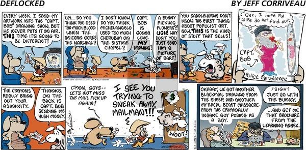 DeFlocked on Sunday May 2, 2010 Comic Strip