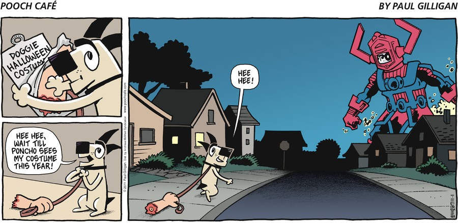 Pooch Cafe Comic Strip for November 01, 2020