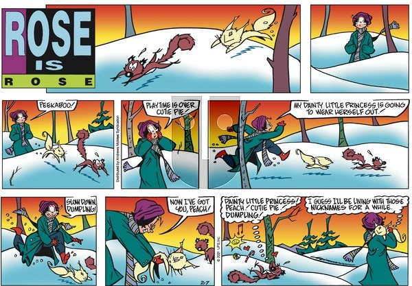 Rose is Rose on Sunday February 7, 2021 Comic Strip