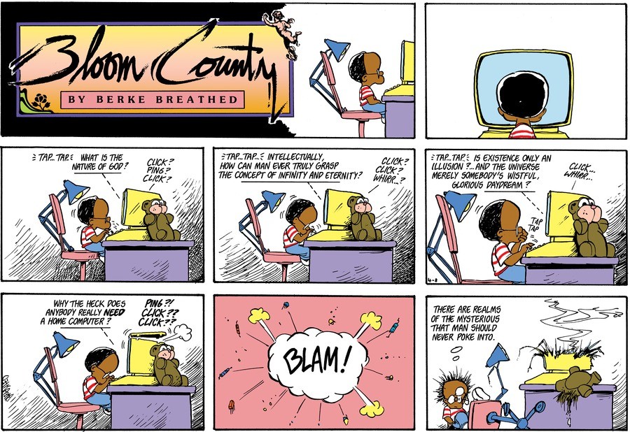 Bloom County Comic Strip for February 14, 2020