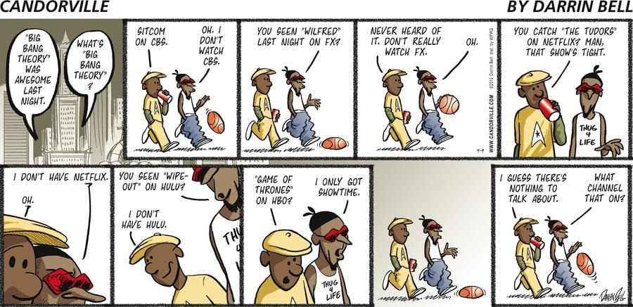 Candorville Comic Strip for September 09, 2012