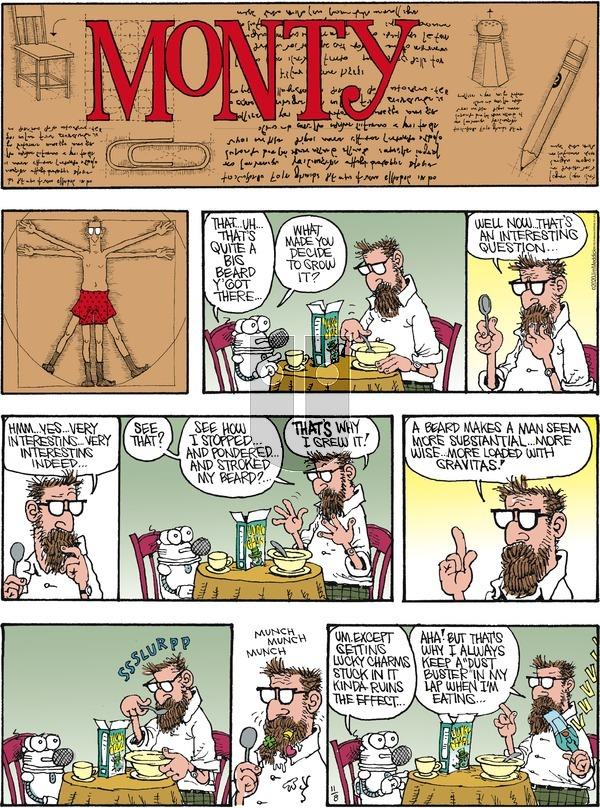 Monty on Sunday November 8, 2020 Comic Strip