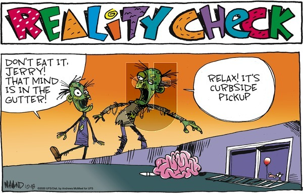 Reality Check on Sunday October 18, 2020 Comic Strip