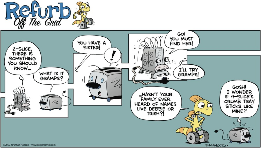 Bleeker: The Rechargeable Dog Comic Strip for February 17, 2019