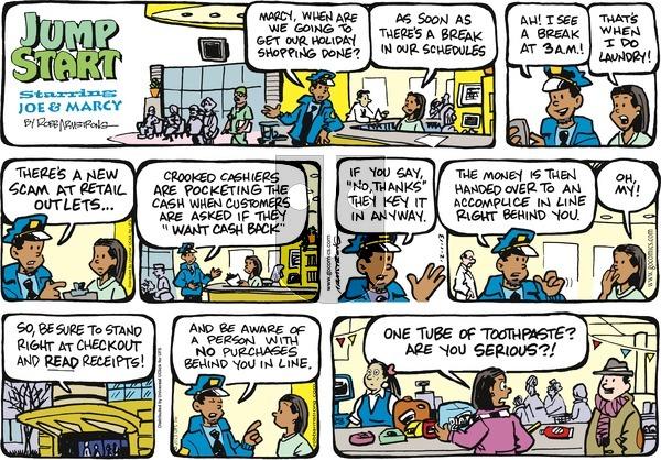 JumpStart on Sunday December 1, 2013 Comic Strip