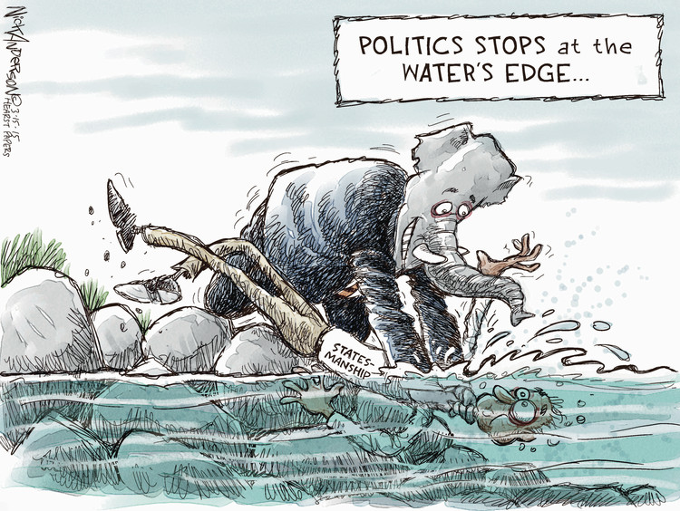 Nick Anderson Comic Strip for March 15, 2015