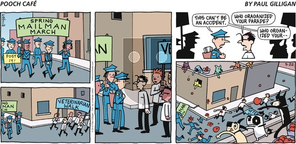 Pooch Cafe - Sunday May 22, 2016 Comic Strip
