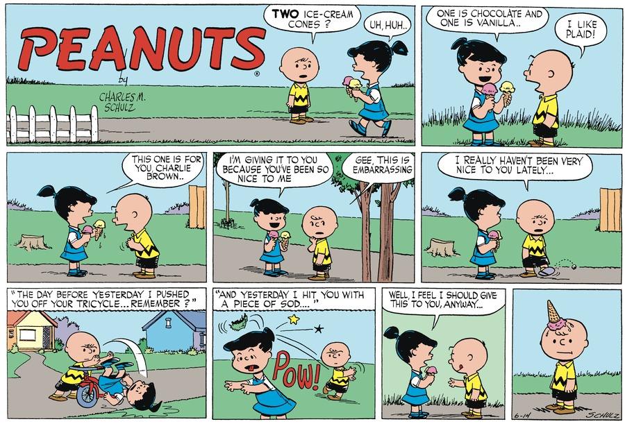 Peanuts Begins Comic Strip for June 12, 2021