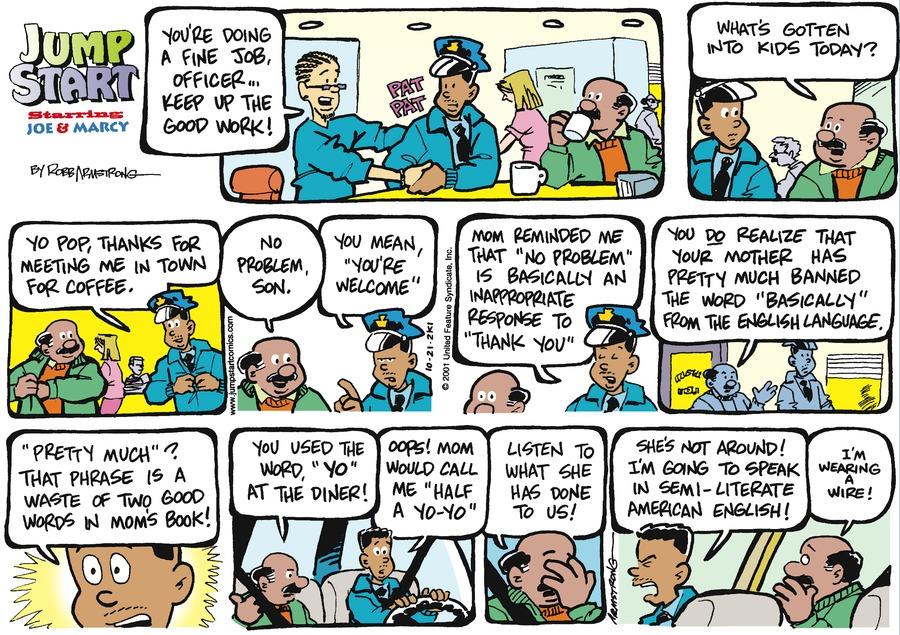 JumpStart Comic Strip for October 21, 2001