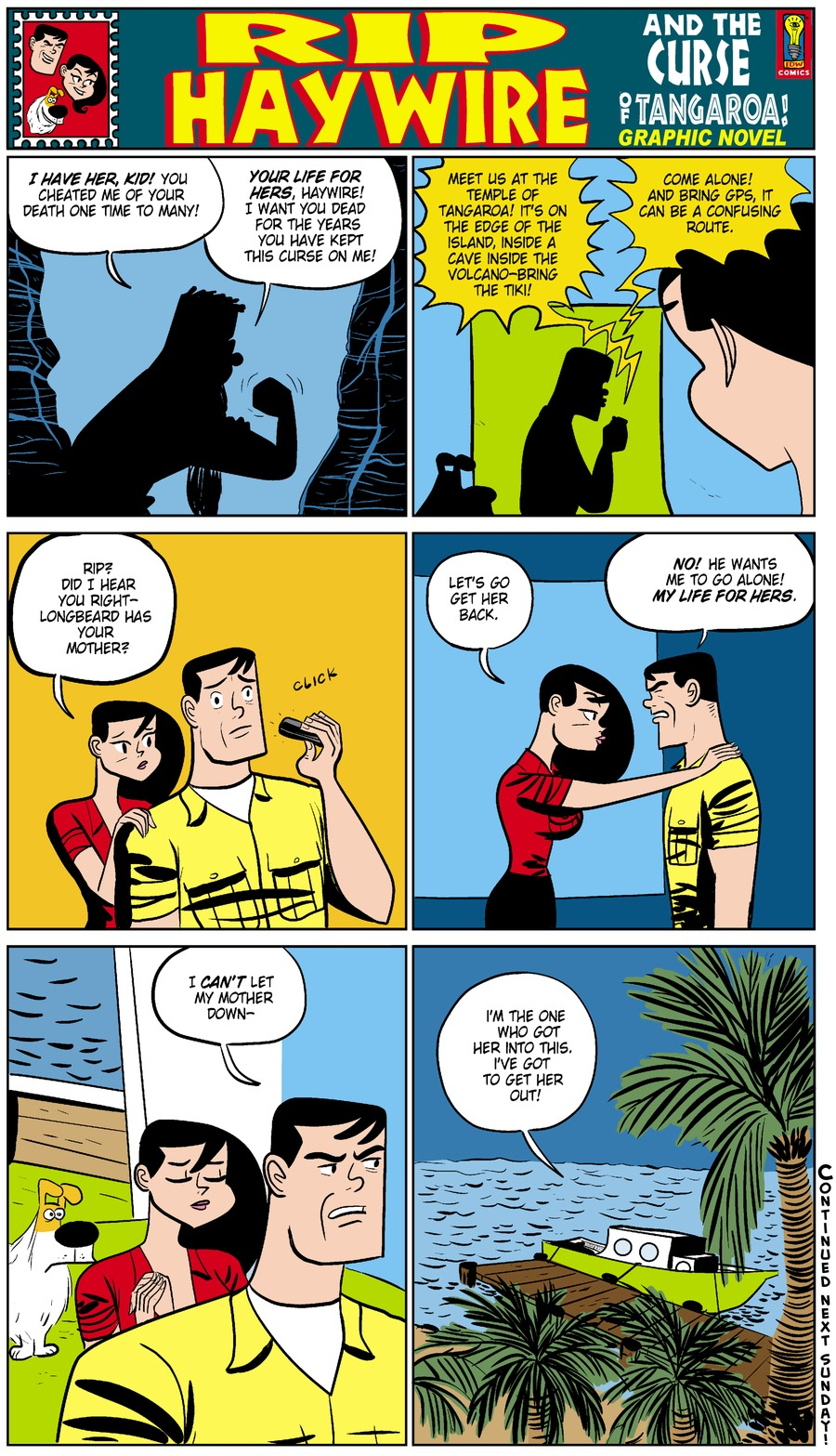 Rip Haywire Comic Strip for December 21, 2014
