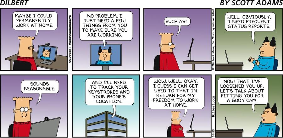 Tracking Dilbert - Dilbert by Scott Adams