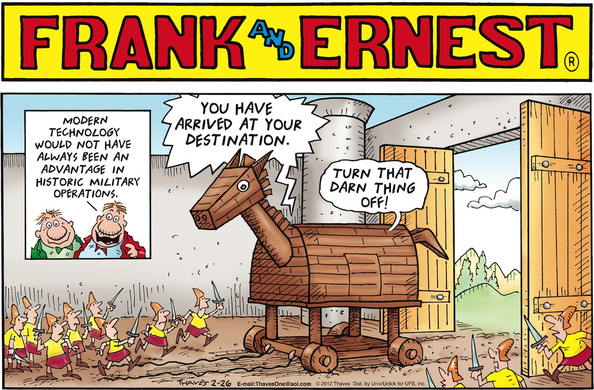 Frank and Ernest Comic Strip for February 26, 2012