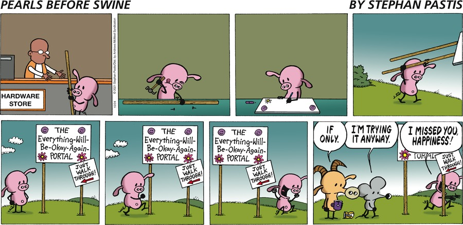 Pearls Before Swine by Stephan Pastis on Sun, 24 Oct 2021
